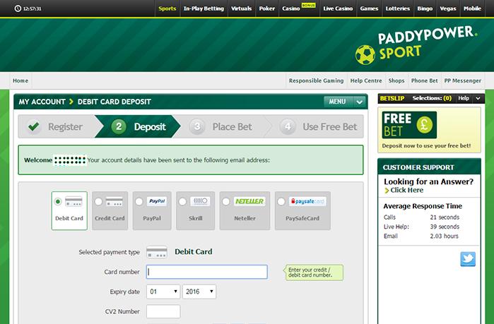 Paddy power casino free bet withdrawal casino night border